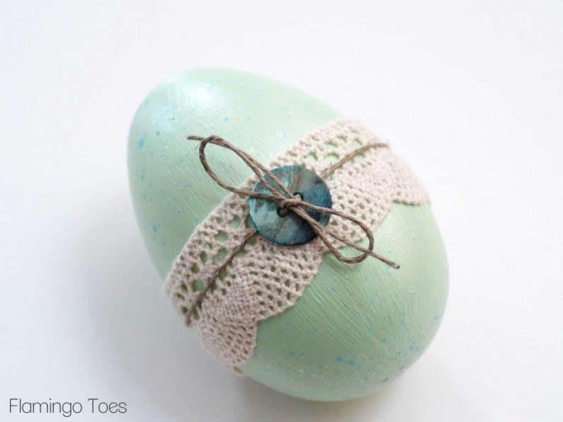 twine and buttons easter eggs