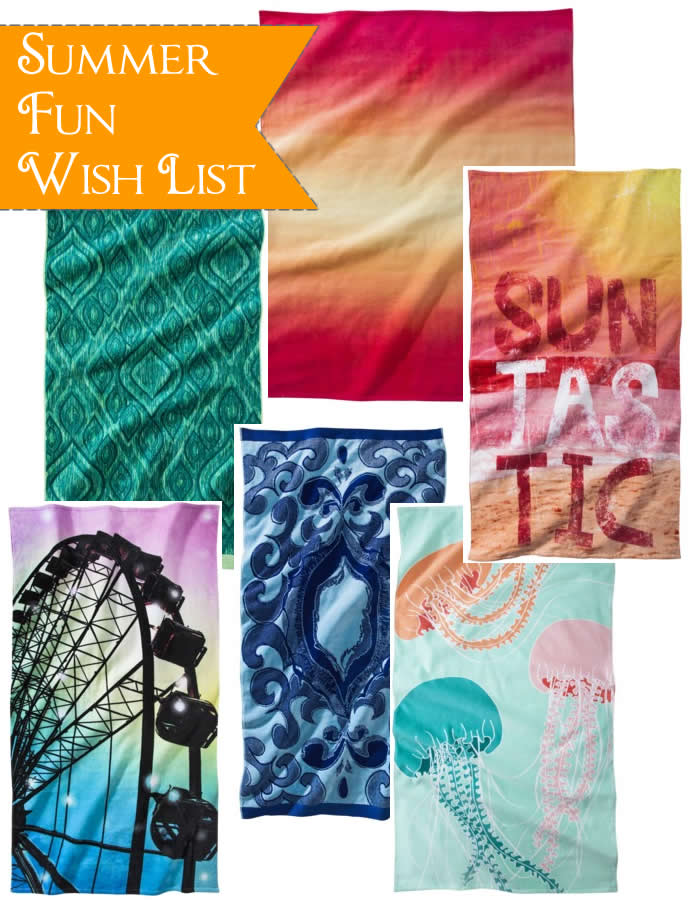 Beach Towel Wish List
