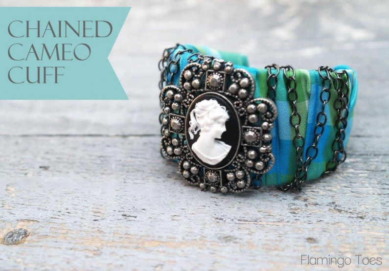 Chained Cameo Cuff