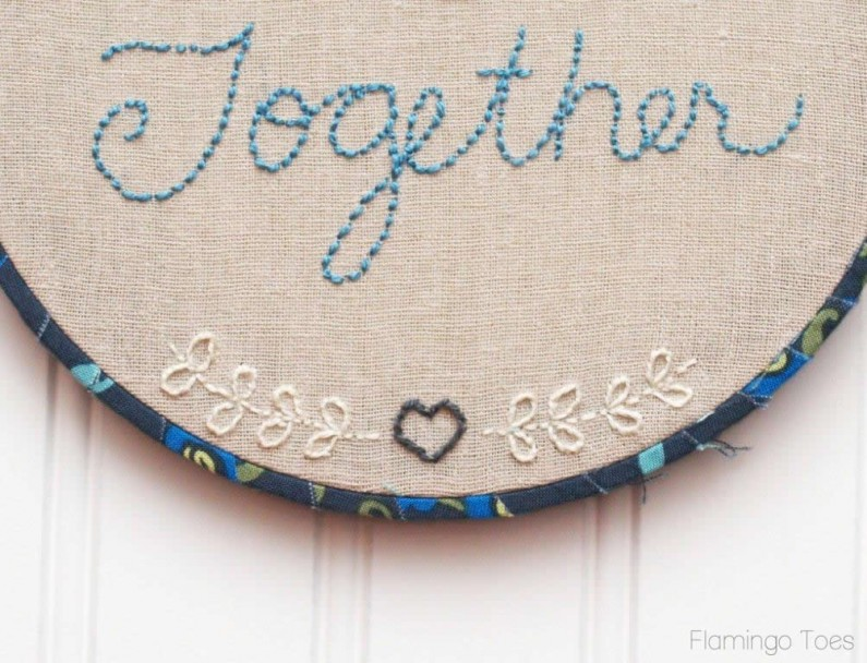 Embroidery Hoop Design and Pattern
