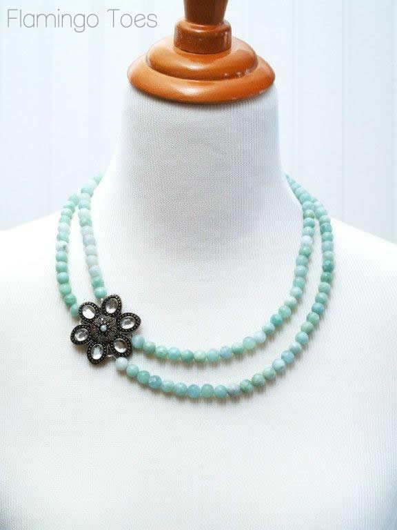 Beaded Necklace Tutorial (2)
