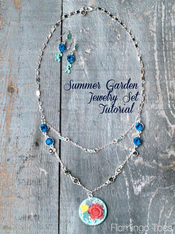 Summer Garden Jewelry Tutorial