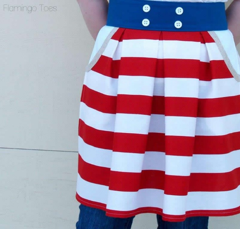 Nautical Apron Pattern
