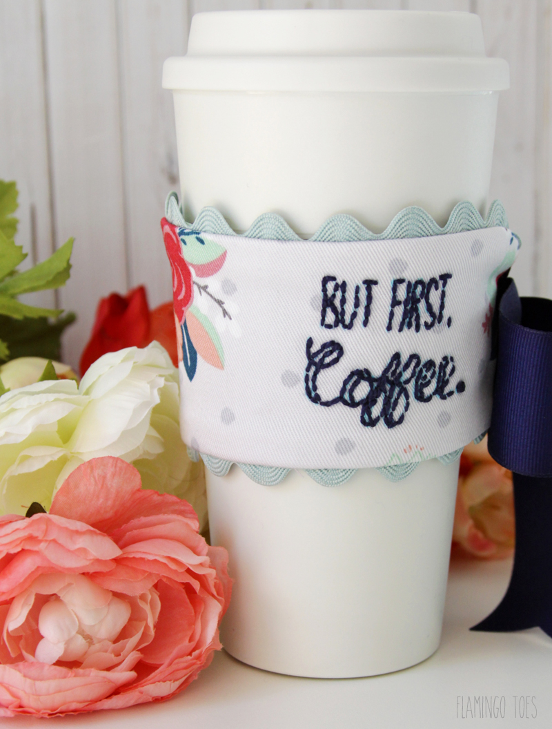 Sweet Fabric Mug Cozy