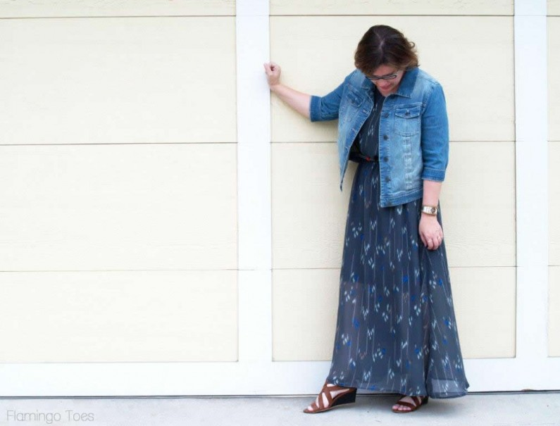 maxi dress tutorial