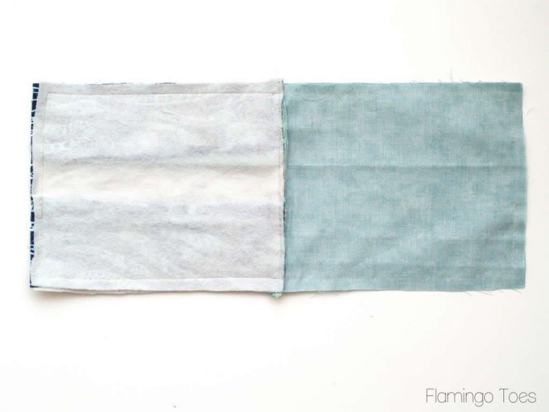 sewing zipper pouch together