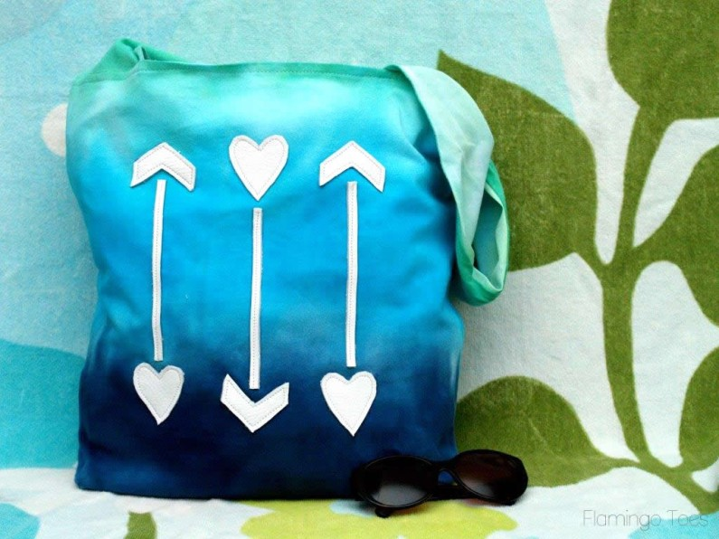 Ombre Beach Bag (2)
