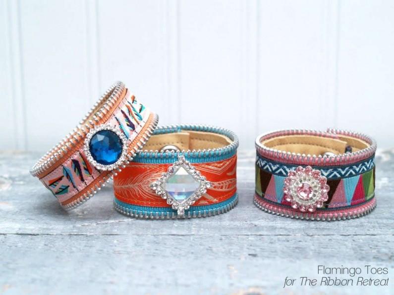 Ribbon Bracelets DIY