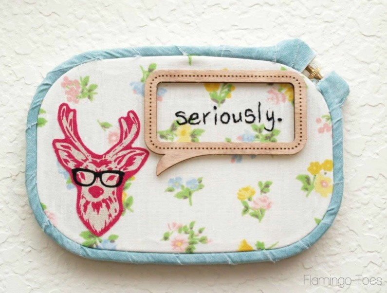funny embroidery hoop art