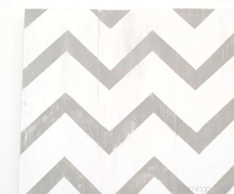 Distressed Chevron