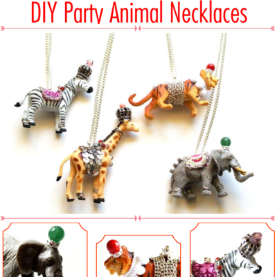 Anthropologie Party Animal Necklace DIY Tutorial