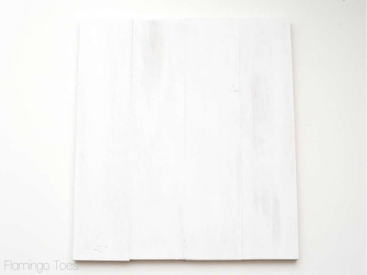 White Wooden Artwork