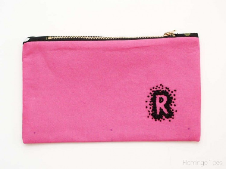 Zipper Pouch for School