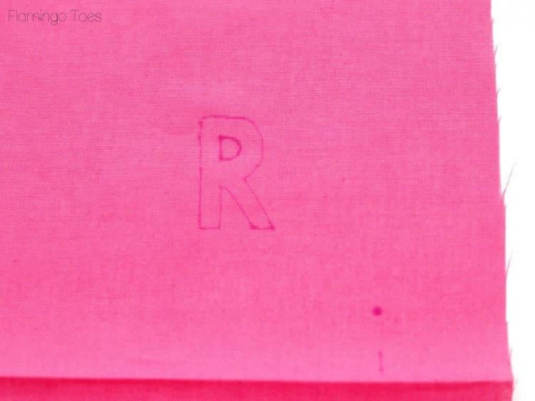 tracing monogram