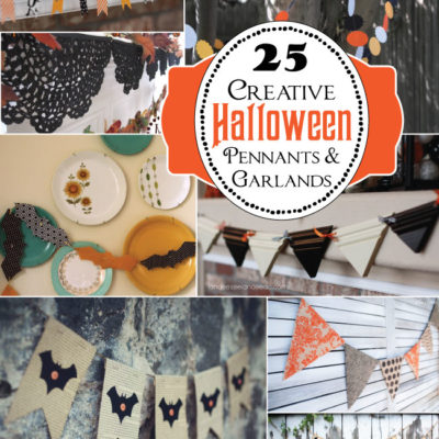 25 Creative Halloween Buntings & Garlands