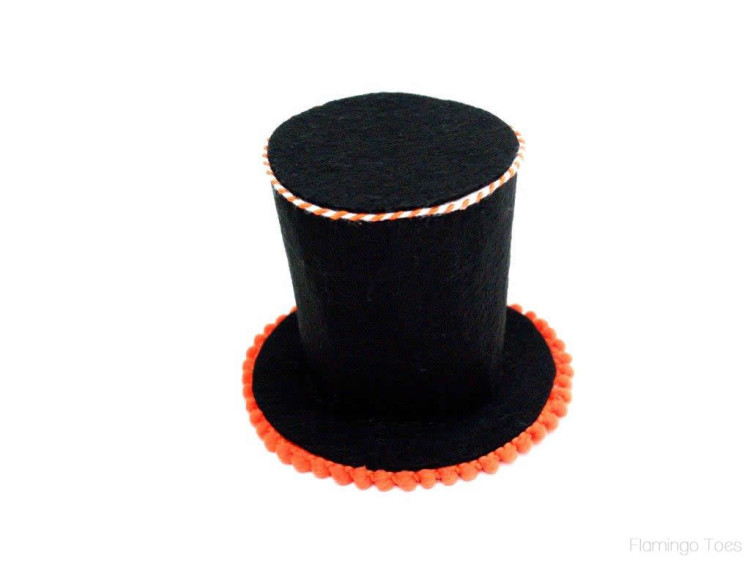 Gluing Top Hat together