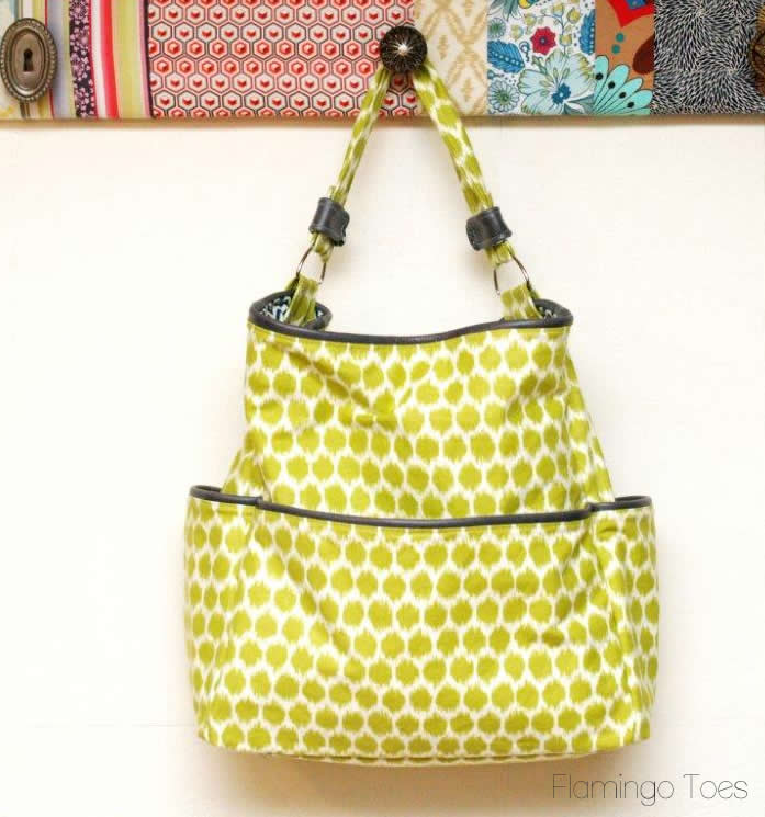 Make an easy tote purse