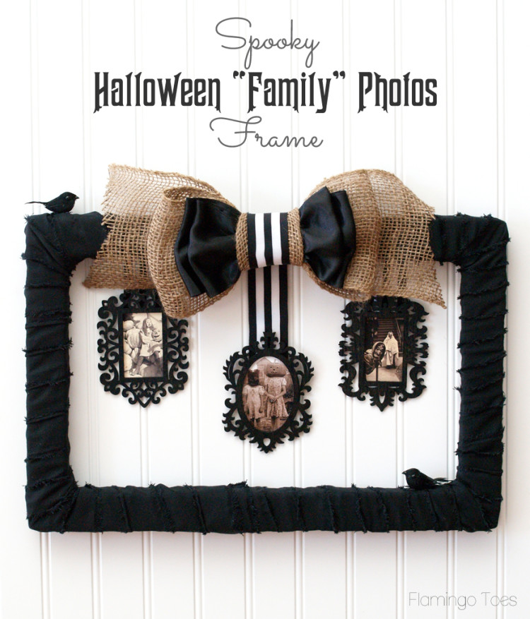 Spooky Halloween Family Photos Frame
