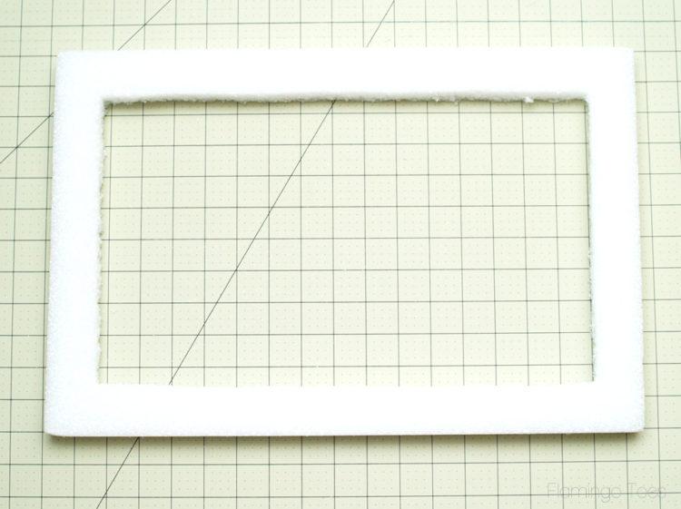 Styrofoam Frame