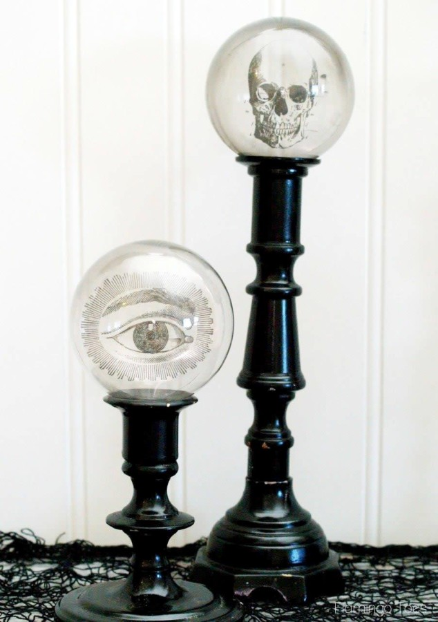Creepy Candlesticks