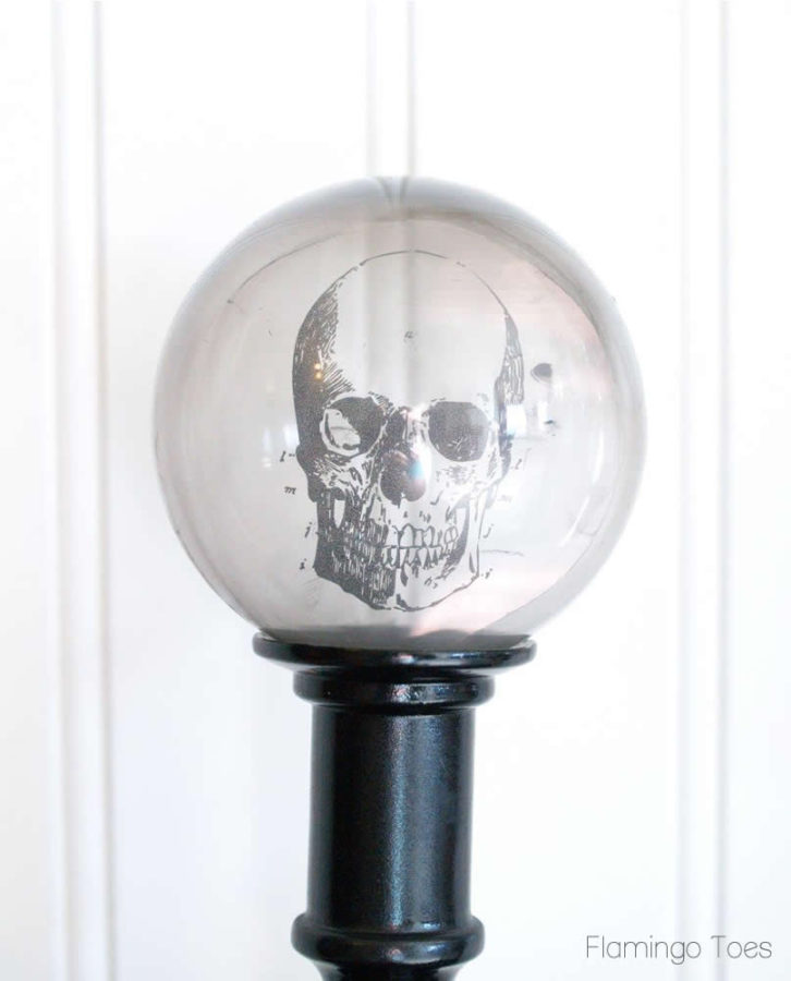Crystal Ball Skull