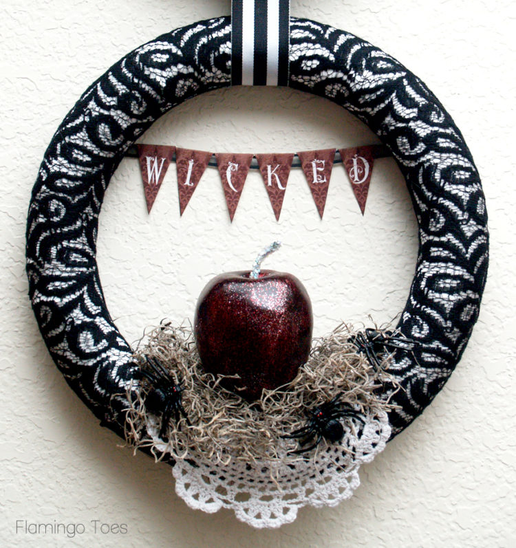 Halloween Wicked Wreath