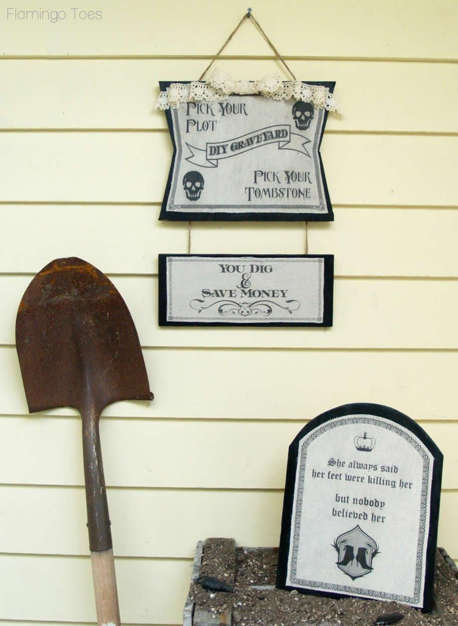 Tombstone Halloween Decorations
