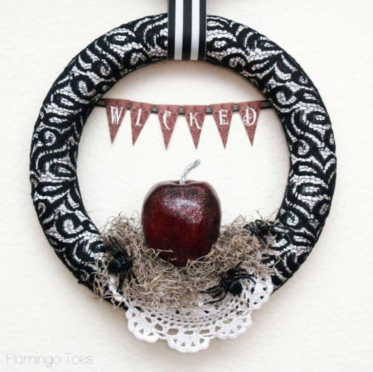 Wicked Halloween Wreath