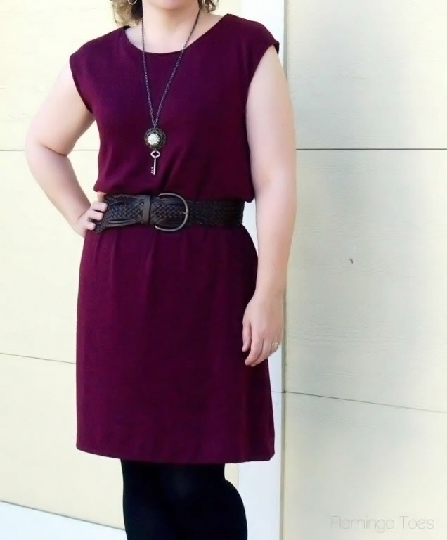 sleeveless knit dress pattern