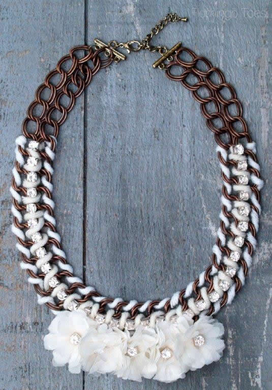 Anthropologie Knockoff Necklace