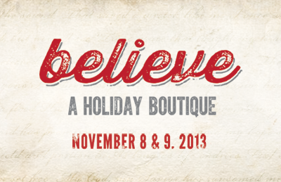 Believe Boutique – I'm Doing a Craft Show!