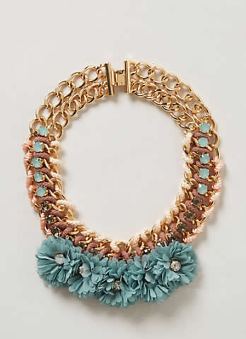 Guirlande Bib Necklace - Anthro
