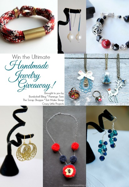 Win the Ultimate Handmade Jewelry Giveaway