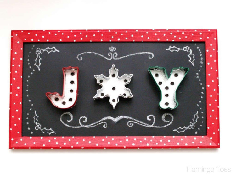 Chalkboard Christmas Designs