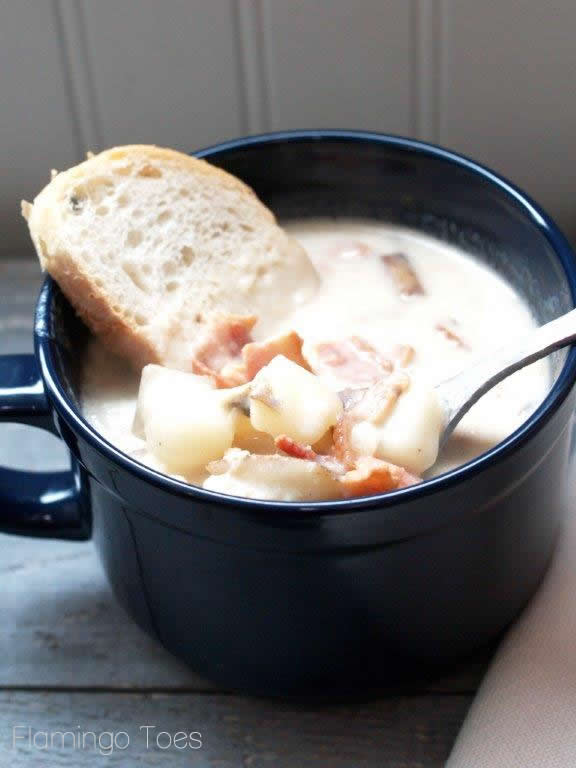 Clam Chowder and Sourdough