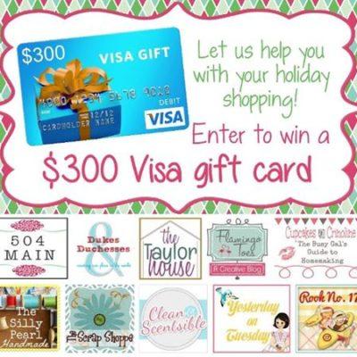 $300 Visa Gift Card Giveaway