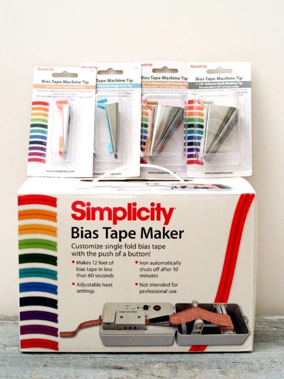 Simplicity Bias Tape Maker Set