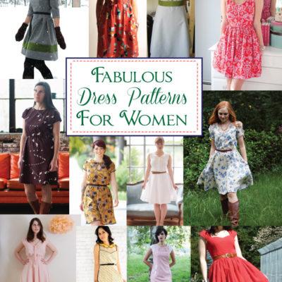 Fabulous Dress Patterns for Women
