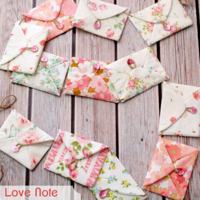 Love Notes for Valentine's Day Bunting