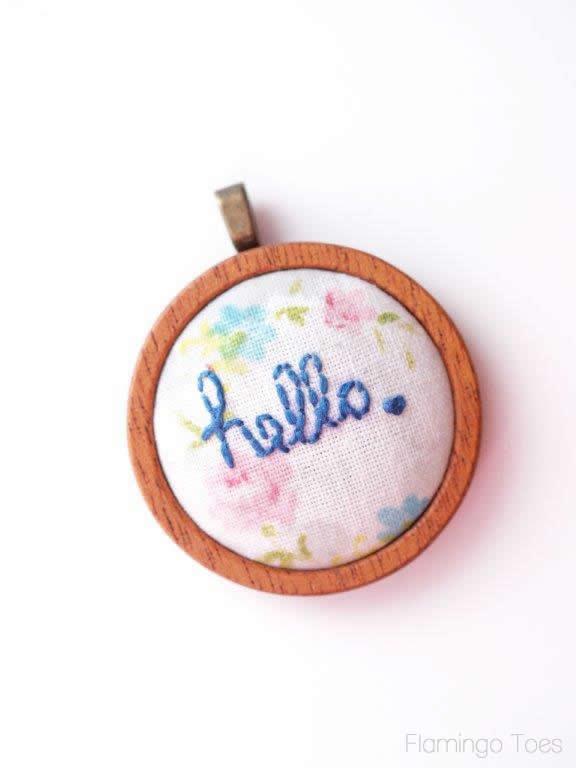 hello pendant