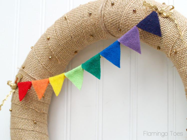 rainbow pennant