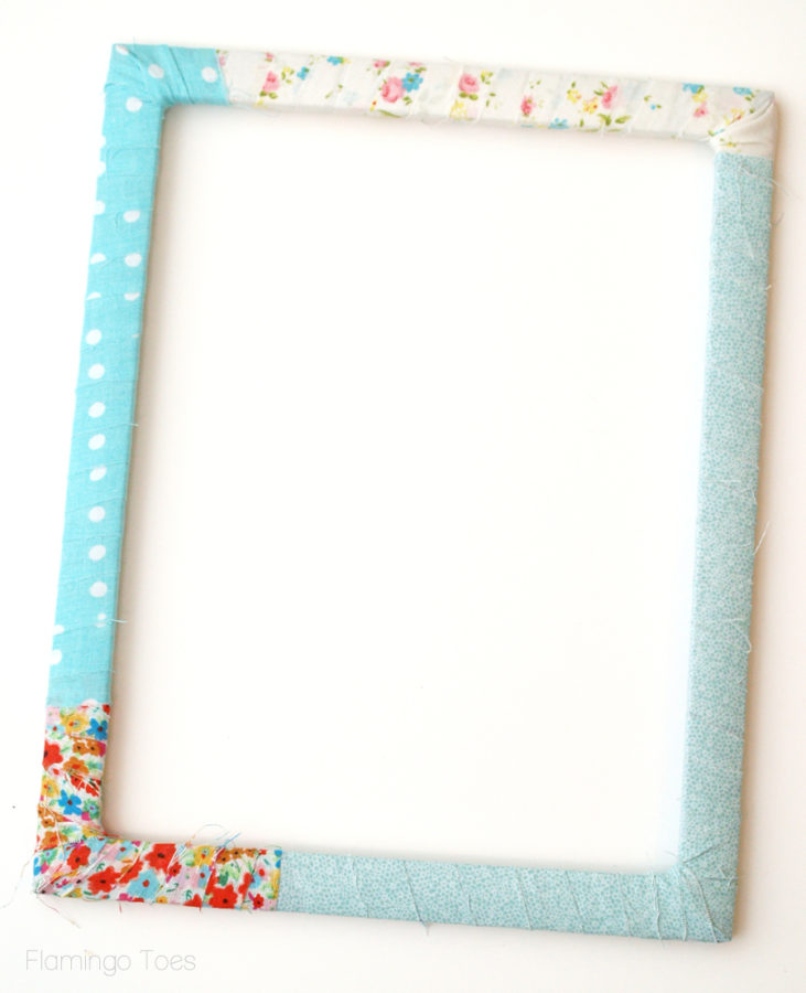 scrappy fabric frame