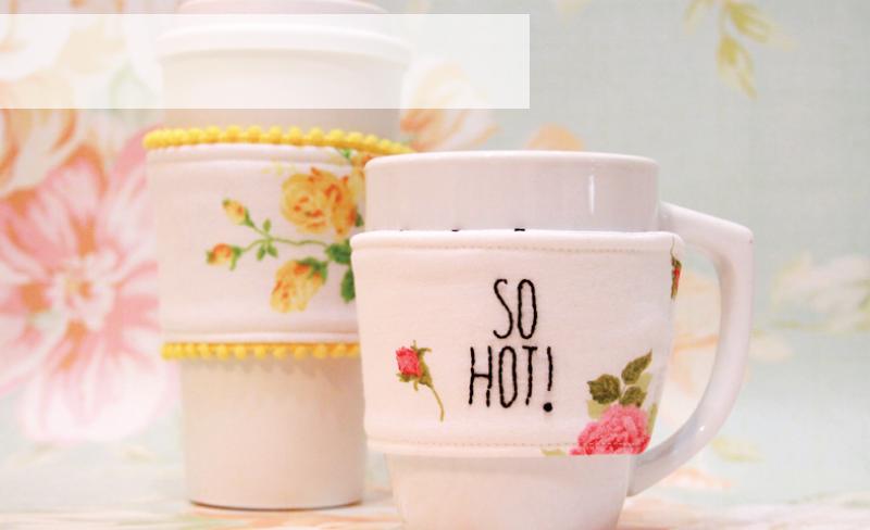 Cute Fabric Mug Cozies