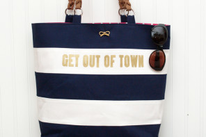 Kate Spade Nautical Tote Kno