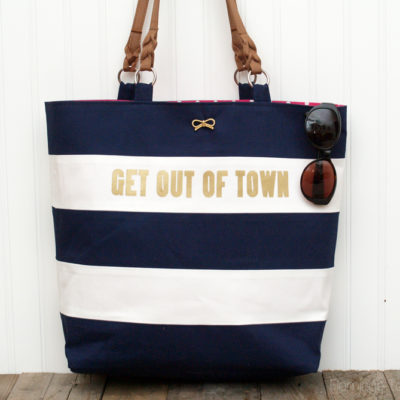 Kate Spade Nautical Tote Knockoff