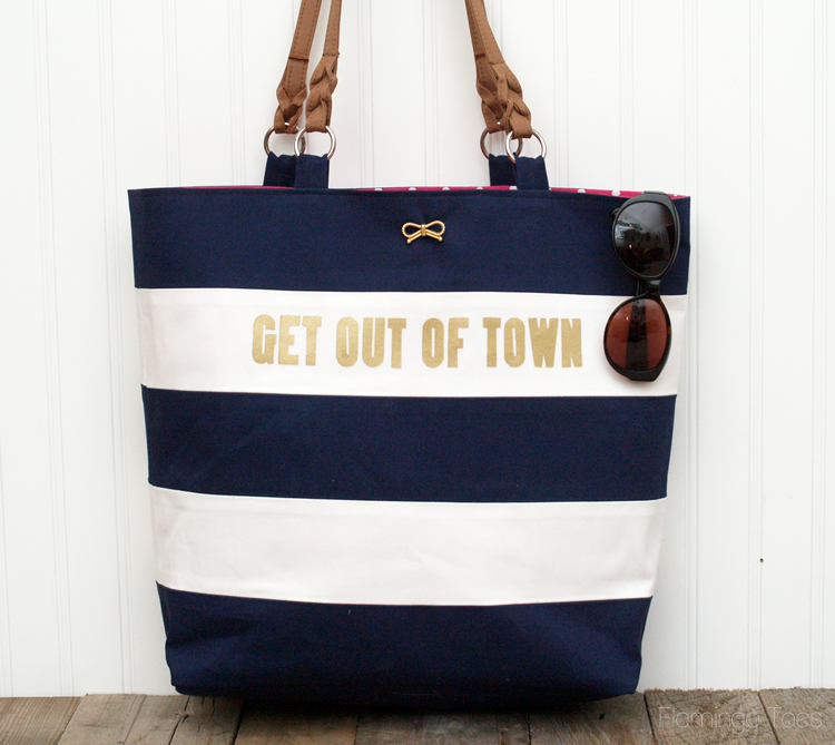 Get Out Of Town Tote