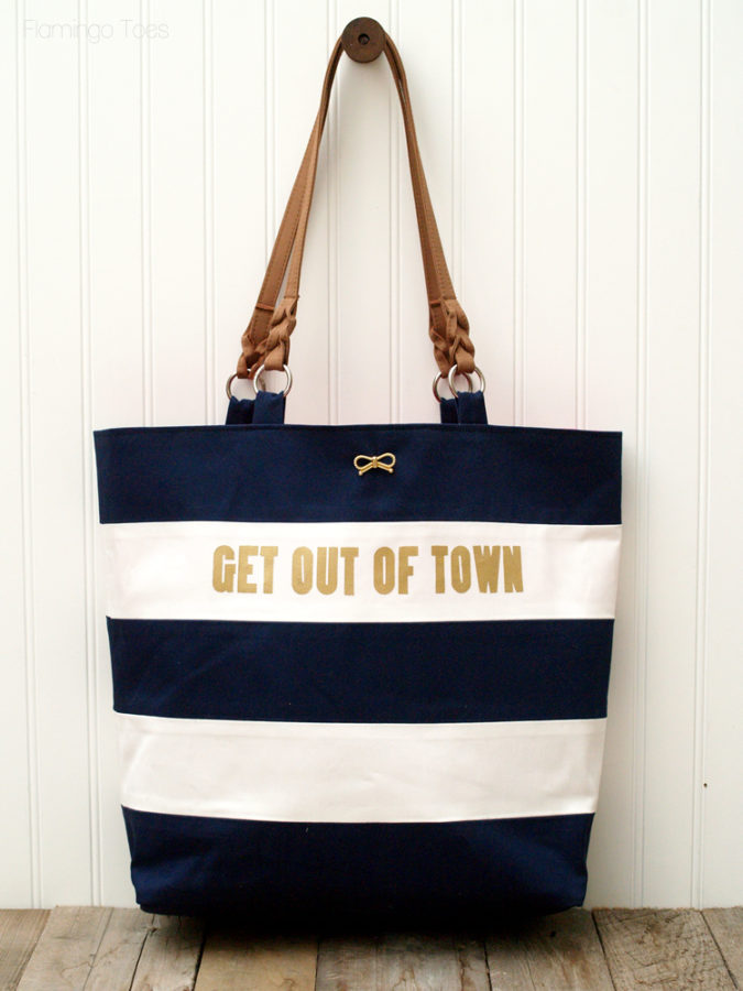 How to Make a Nautical Tote Bag