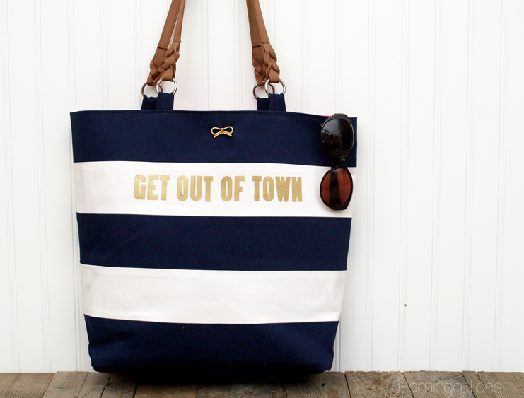 Nautical Travel Tote