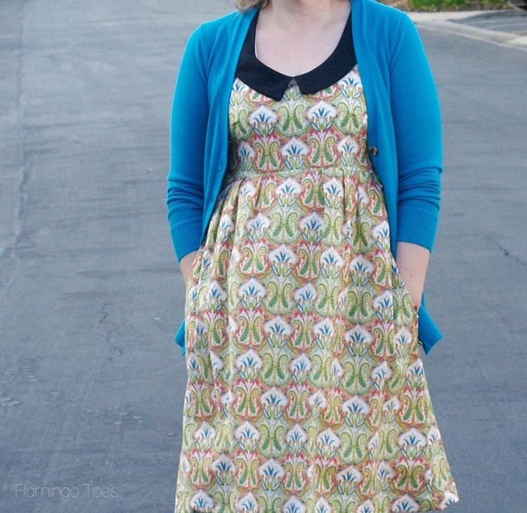 Washi Dress with collar