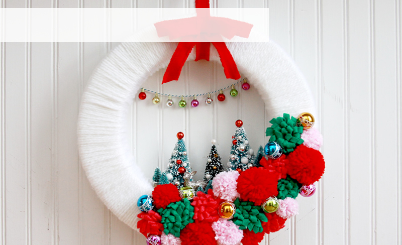 Retro Inspired Wreath